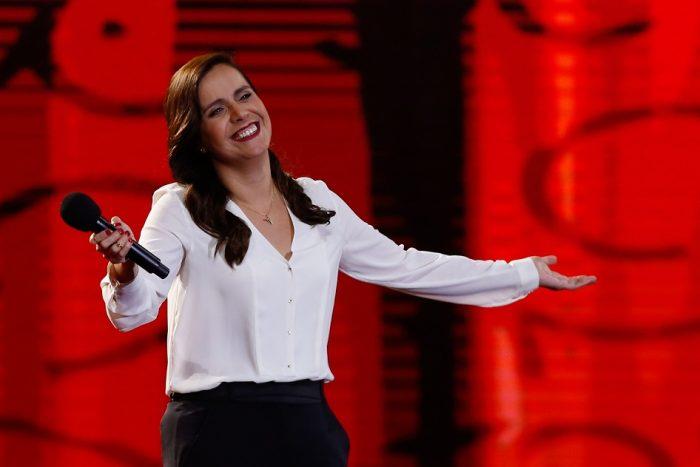 Natalia Valdebenito en Casino Enjoy de Viña del Mar