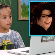 [VIDEO VIDA] La reacción de los niños a grandes éxitos de Michael Jackson por primera vez
