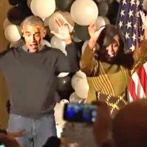 [VIDEO] Los Obama bailaron