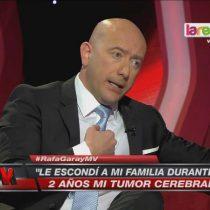 Informe de la PDI confirma que Rafael Garay no padece cáncer al cerebro