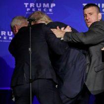 Elecciones en EE.UU.: el Servicio Secreto sacó a Donald Trump del escenario tras un supuesto incidente de seguridad