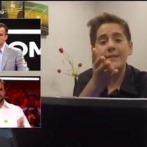 [VIDEO] Tadeo Villanueva encara a Jaime Bellolio y