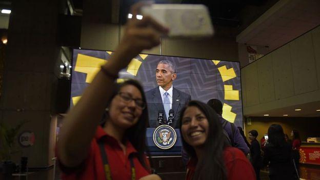 Obama estuvo en Lima, en la reunión de la APEC, hablando en defensa del TPP que su gobierno gestionó. Ahora, el futuro del tratado es incierto.
