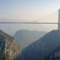 [VIDEO] Cómo es el puente de Beipanjiang, el más alto del mundo