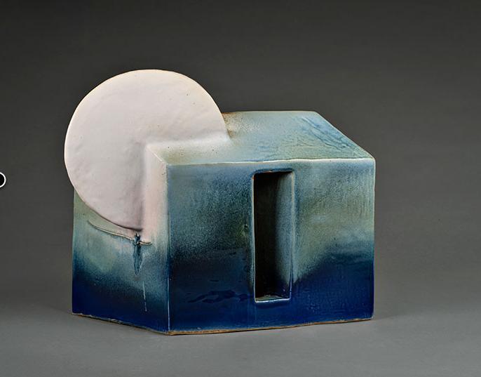 """Exposición colectiva de cerámica """"AzulEsteka"""" en Sala de Arte Las Condes"""