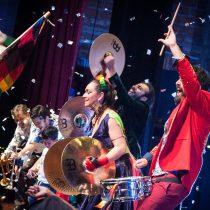Banda Conmoción celebra quince años de existencia con recital en Parque O'Higgins