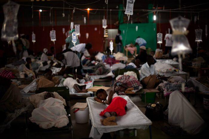 ONU pide perdón a Haití por el cólera tras seis años de epidemia en el país