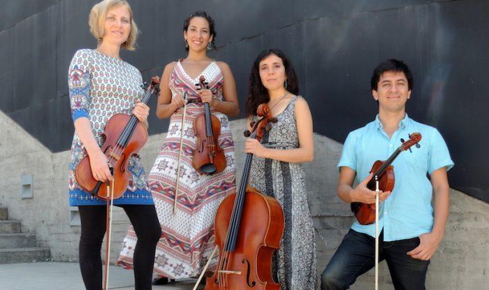 Concierto gratuito de Navidad de Cuarteto Giros en Fundación Cultural de Providencia