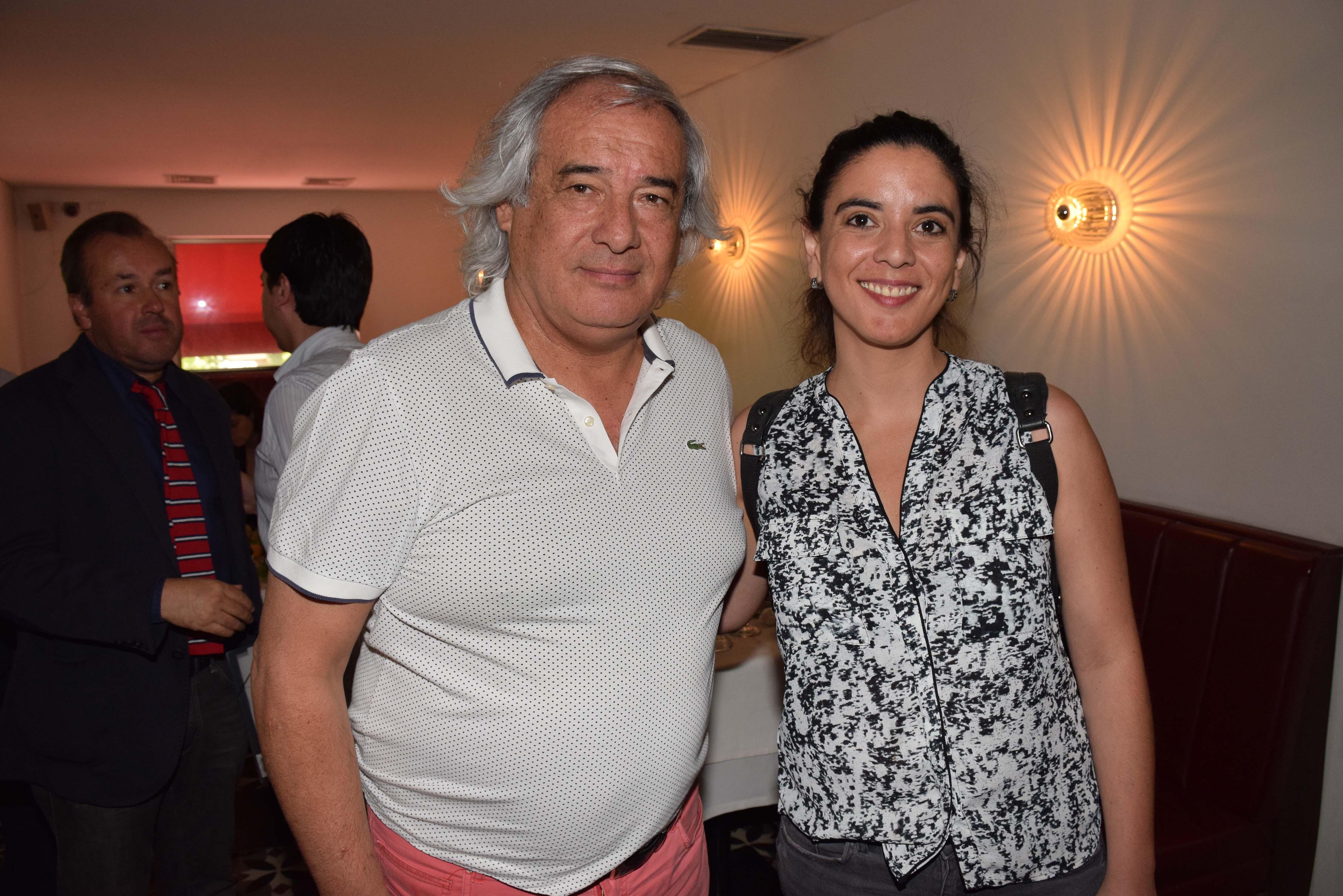 Enrique Hormazábal y María José Quesada