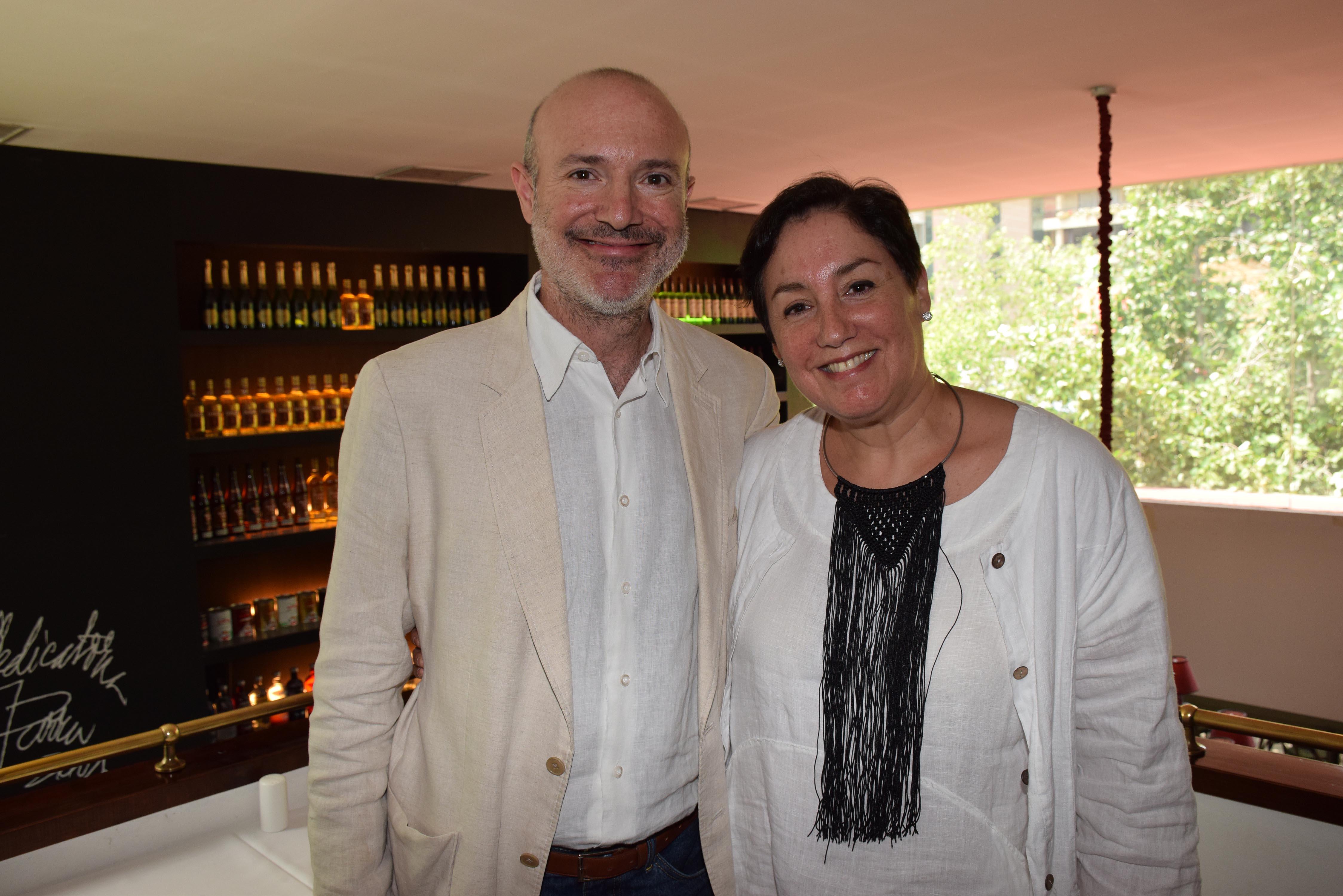 Federico Joannon y Beatriz Sánchez