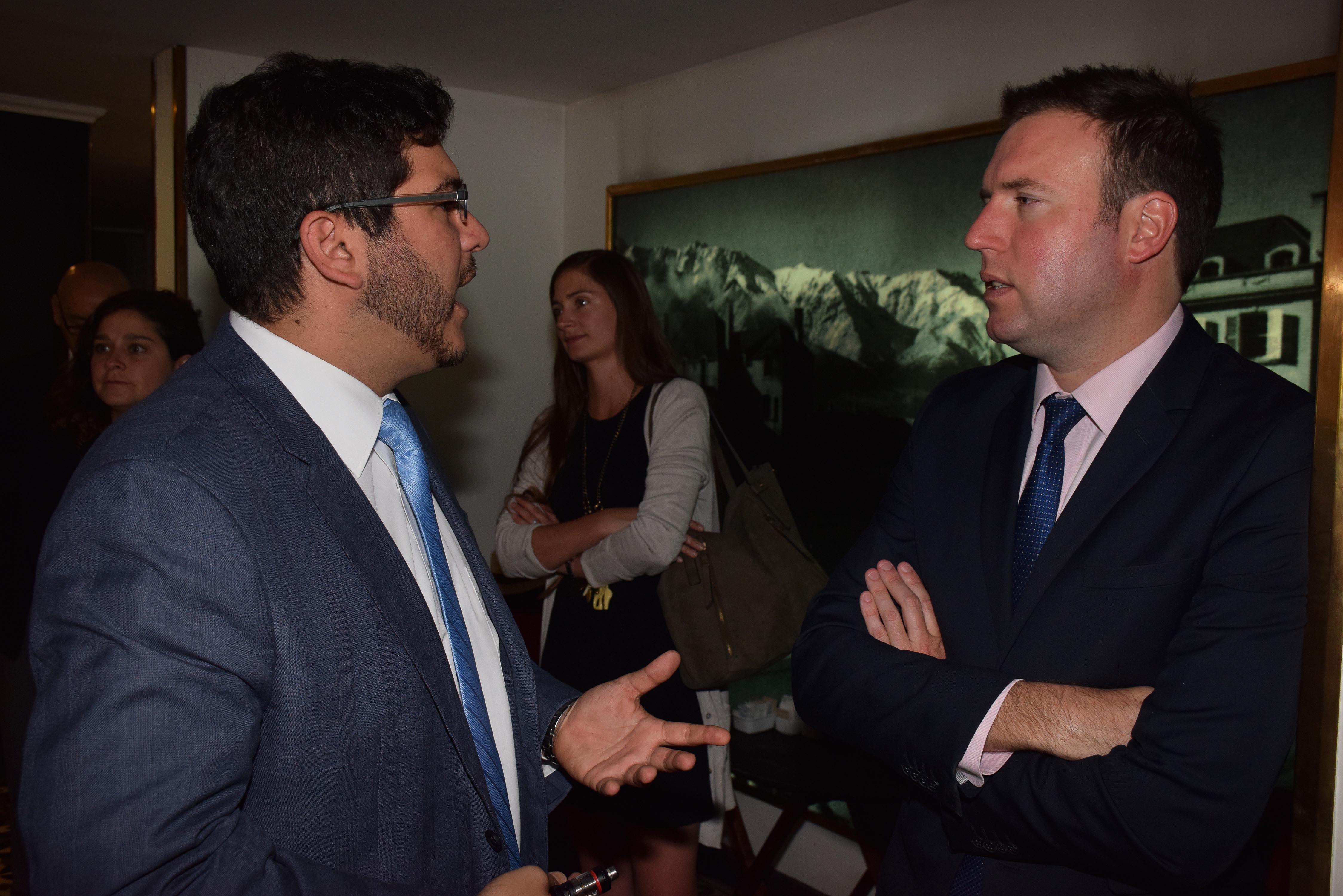 Juan Miguel Nasur y Max Raide