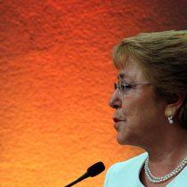 Bachelet: 'Para no verme más'
