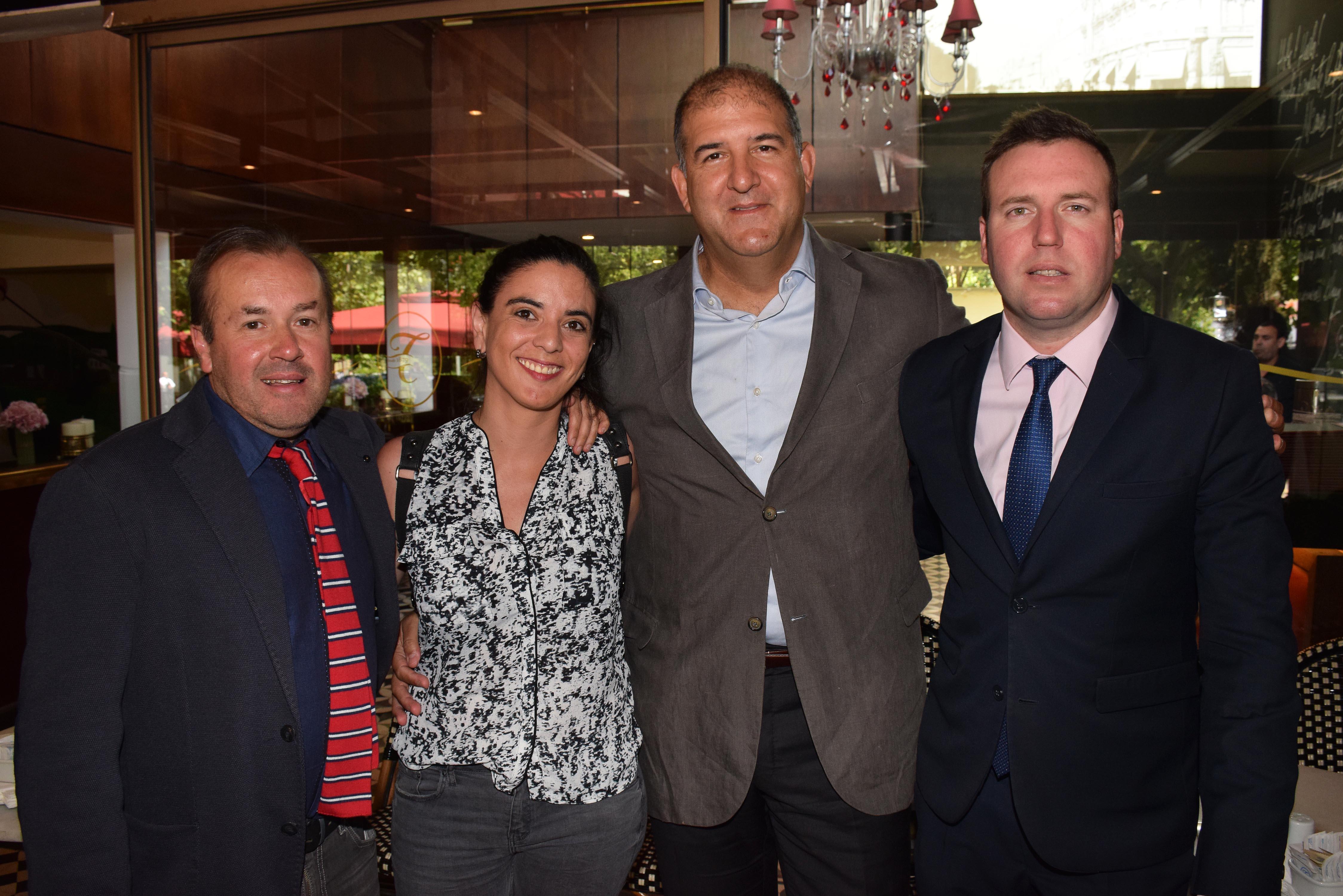 Mirko Macari, María José Quesada, Iván Weissman y Max Raide