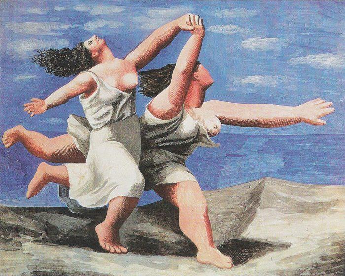 Picasso, Dos mujeres corriendo por la playa 1922