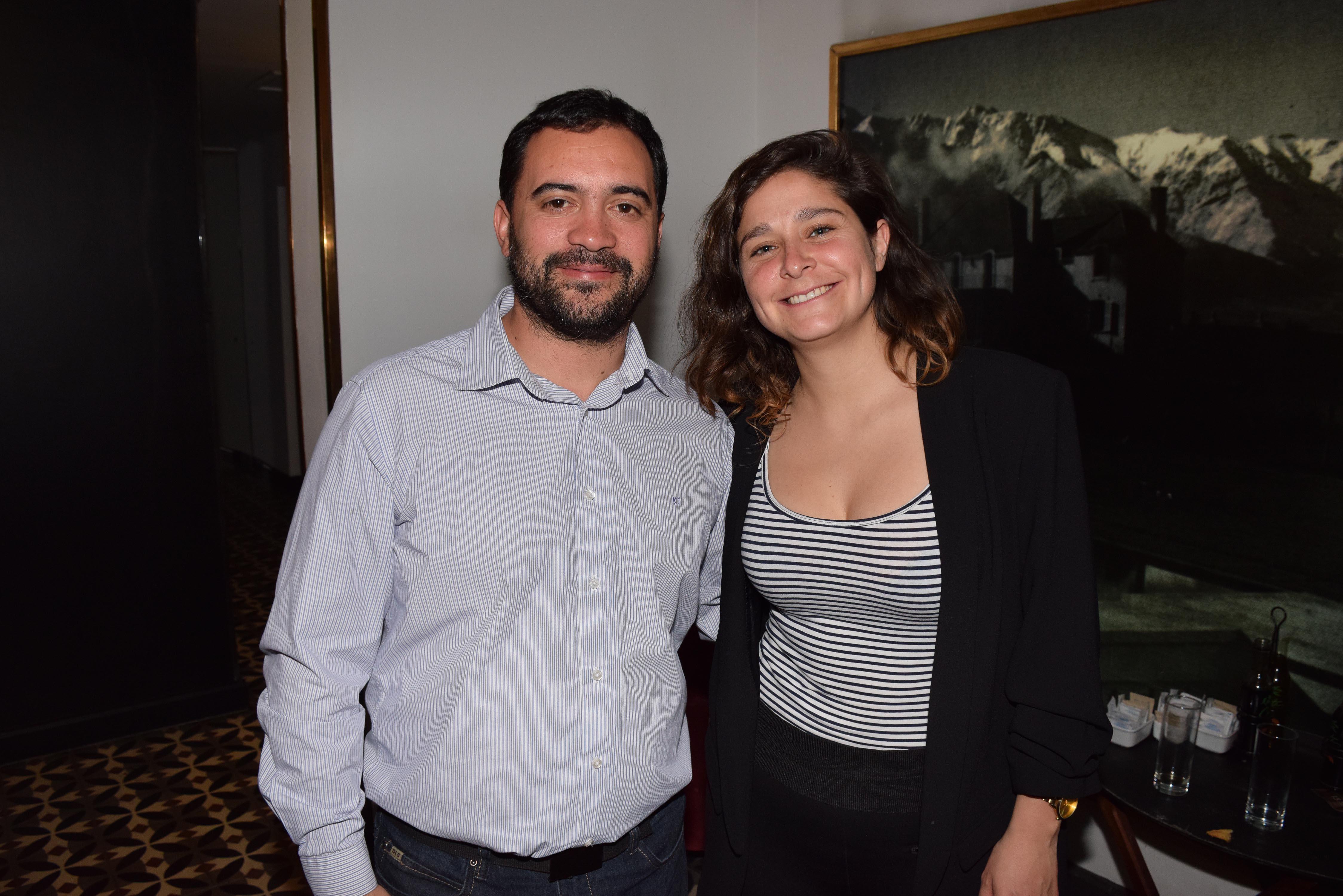 Ricardo Basáez y Macarena Cortés