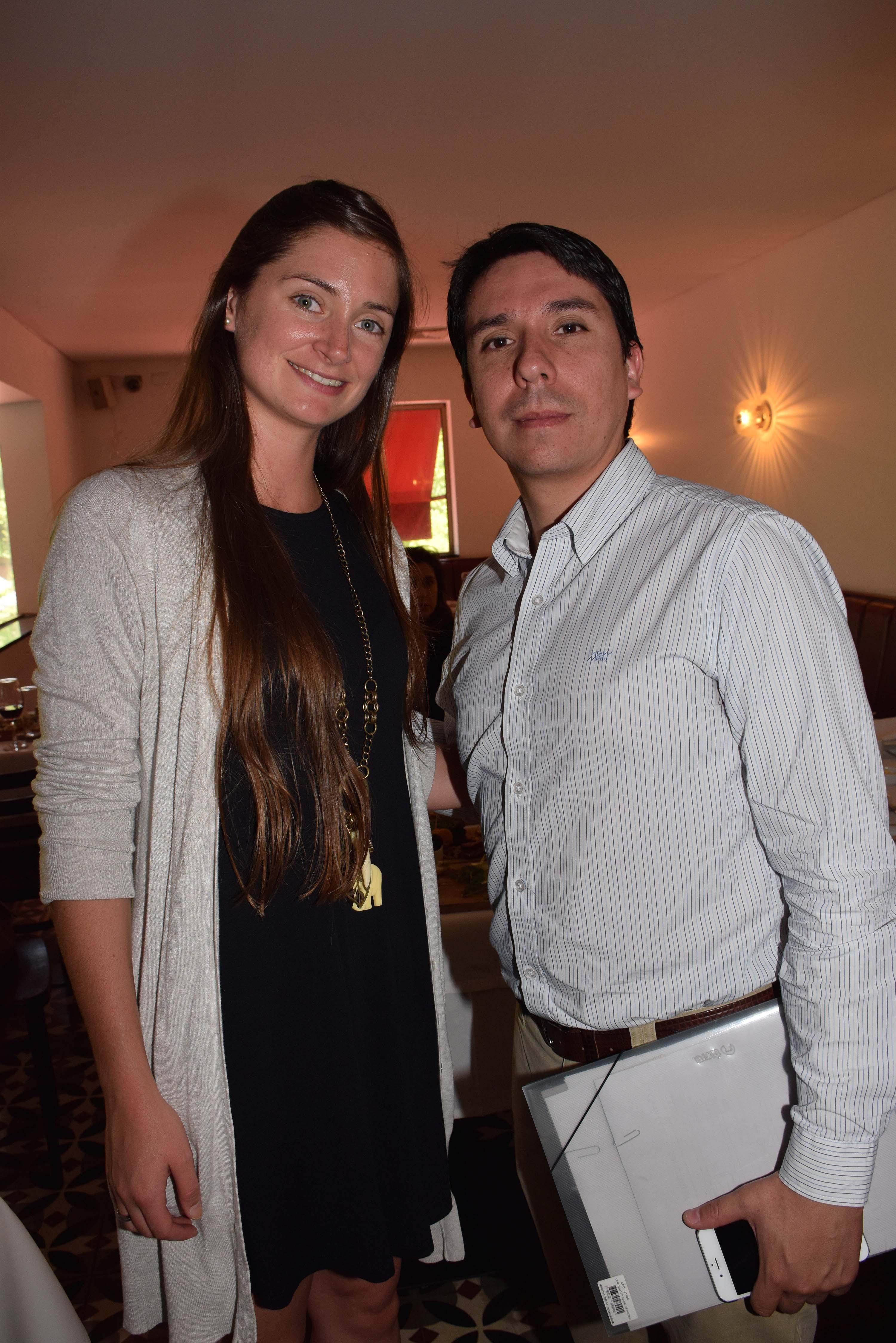 Rosario Errázuriz y Alejandro Quense