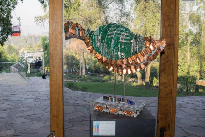 Parque Metropolitano exhibirá muestra de esculturas hechas con residuos electrónicos de fundación Chilenter