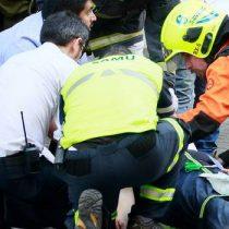 Estudiantes chilenos que iban en gira de estudio resultaron heridos por accidente de tránsito en Bariloche