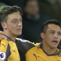 [VIDEO] Alexis sigue imparable: convierte en victoria parcial del Arsenal ante el West Ham