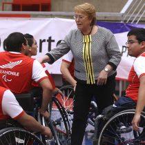 [FOTOS] Bachelet promulga ley que reconoce el deporte adaptado y paralímpico