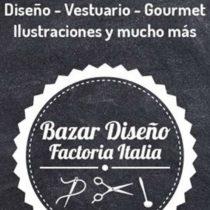 Bazar diseño factoría Italia: navidad a mano y con amor