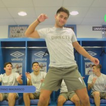[VIDEO] El baile de los jugadores de Católica para presentar su lista de Spotify