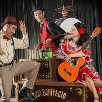 Festival gratuito Zócalo en Teatro Regional del Maule