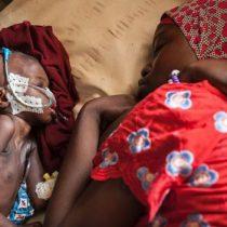 El drama de los niños de Nigeria: