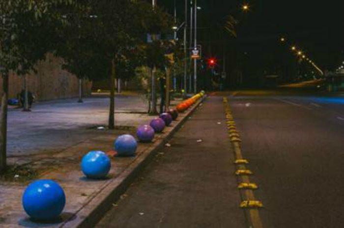 Social Growing trabaja con intervenciones como marketing urbano. Un ejemplo es una calle cercana a la pérgola.