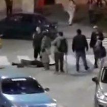 [VIDEO] Registran brutal pelea grupal en Plaza Perú en Concepción