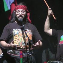 [VIDEO] Las emotivas palabras de Rubén Collío, esposo de la fallecida activista Macarena Valdés, durante un concierto de Illapu