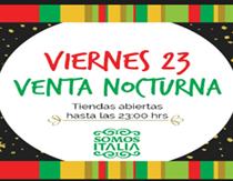 Venta nocturna de Navidad en Barrio Italia: comprar regalos de noche y sin estrés