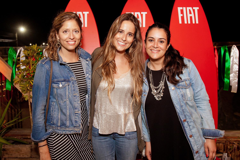 Laura Contreras, Francisca Mingo y María Gracia del Solar.