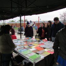 La PeriFeria del Libro en Plaza Central, Comuna de Independencia