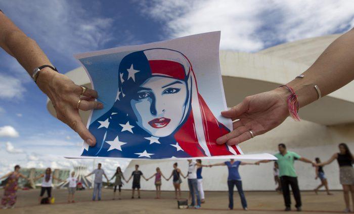 [FOTOS] Mujeres del mundo marchan en contra de Donald Trump