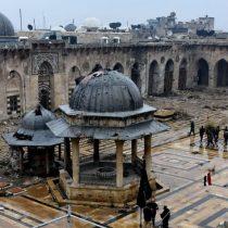 [VIDEO] La impactante destrucción de la milenaria mezquita de Alepo tras más de 5 años de guerra