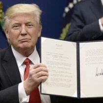 Donald Trump firma una orden ejecutiva que suspende la entrada a EE.UU. de refugiados