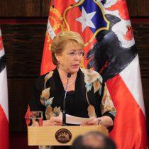 Bachelet se pronuncia con fuerza a favor del matrimonio igualitario