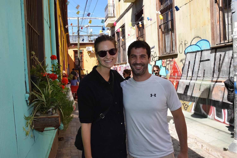Carmen Krauss y Luis Ferreira