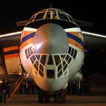 Avión ruso bautizado como
