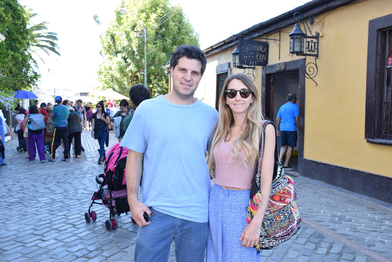 Eugenio Cruz y Natalia Miranda