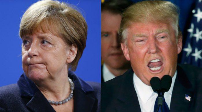 Merkel contesta críticas de Trump: