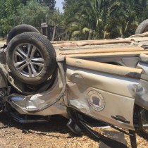 Directora regional de Onemi y Seremi de transportes de O'higgins sufren accidente de tránsito