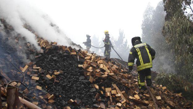 Los recientes incendios son inusuales en esta región.