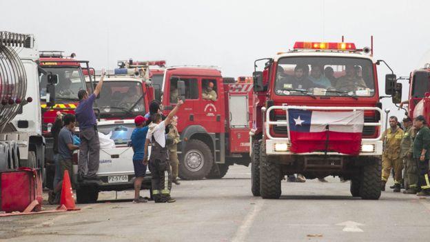 Algunas voces sugieren que los incendios son intencionados pero todavía no hay pruebas definitivas que lo confirmen.