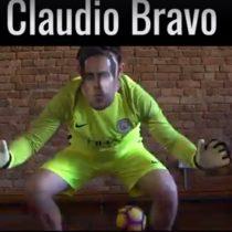 [VIDEO] La parodia británica que se burla de los errores de Claudio Bravo en el Manchester City