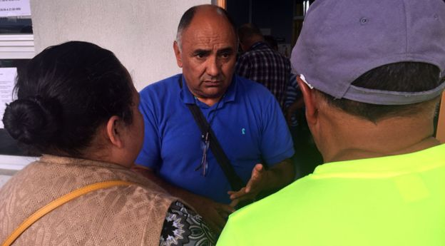 Pablo Cruz es el líder del departamento de emergencias de la ciudad.