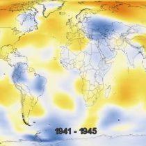 [VIDEO] La NASA lanza video donde se pueden ver 136 años de cambio climático en 20 segundos