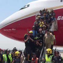 [VIDEO] El ceacheí desde el Supertanker que agradeció el apoyo de los chilenos