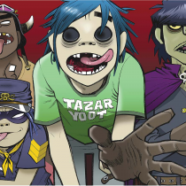 [VIDEO] Gorillaz lanza single con oscuro mensaje por ascenso de Trump